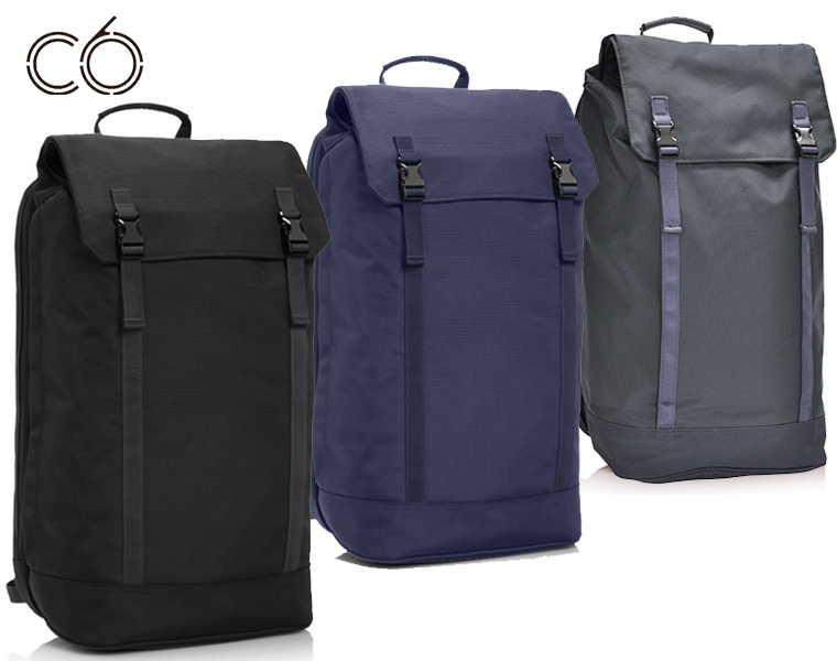 【送料無料】C6/スリムバックパック Slim backpack ( iPads, MacBook Air,MacBookPro up 15″)