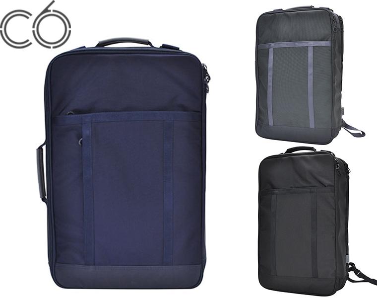 【送料無料】C6/WEEKENDER BAG DURABLE NYLON ( NAVY/CHARCOAL/BLACK ) ナイロン バックパック