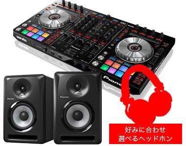 【選べる特典付き】PIONEER DJコントローラー/DDJ-SX2 + スピーカー + 選べるヘッドホン【送料無料】