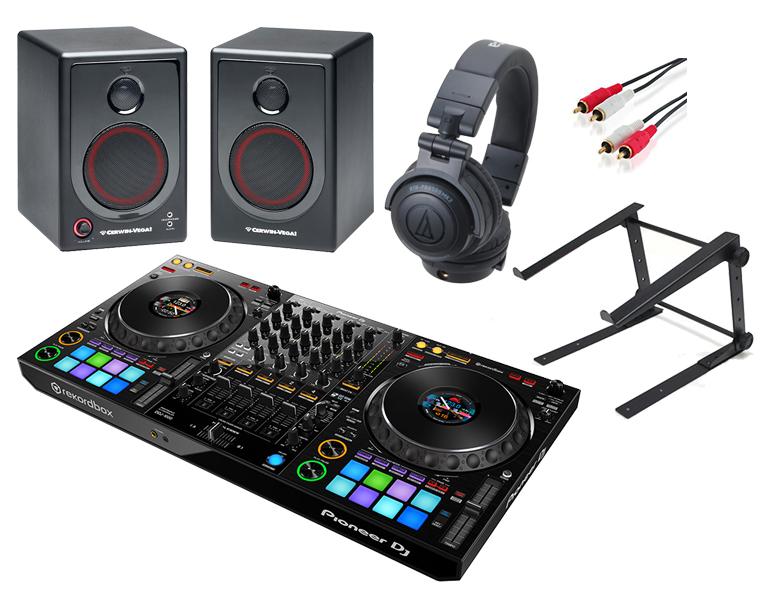 【選べる特典付き】PIONEER DJコントローラーセット /DDJ-1000 + ATH-PRO500MK2 + XD3 + PCスタンド【送料無料】