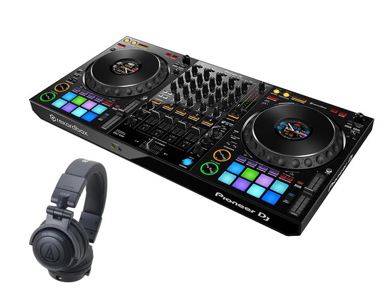 【選べる特典付き】PIONEER DJコントローラーセット /DDJ-1000 + ATH-PRO500MK2【送料無料】