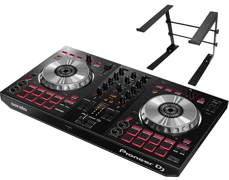 PIONEER DJコントローラーセット/DDJ-SB3 + PCスタンド【送料無料】