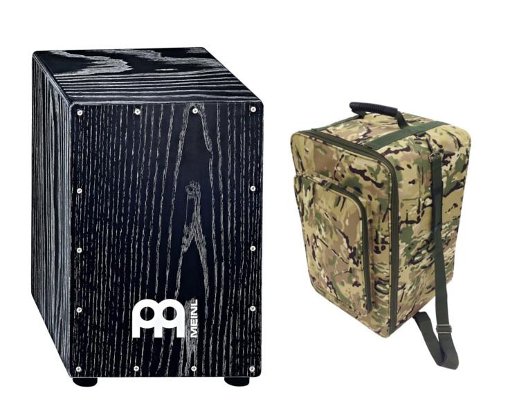 MEINL(マイネル)/ MCAJ100VBK + KC CJB-01 CAM 【カホン人気モデルと便利なキャリングケースセット】