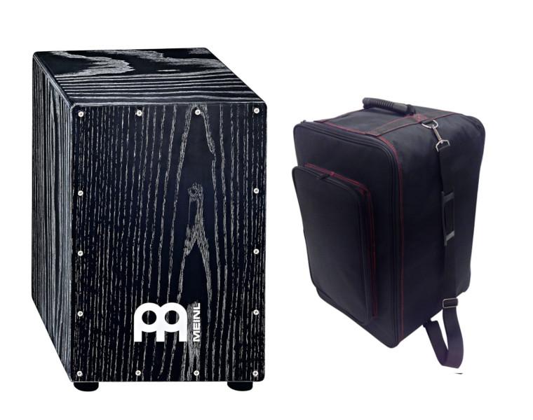 MEINL(マイネル)/ MCAJ100VBK + KC CJB-01 BK 【カホン人気モデルと便利なキャリングケースセット】