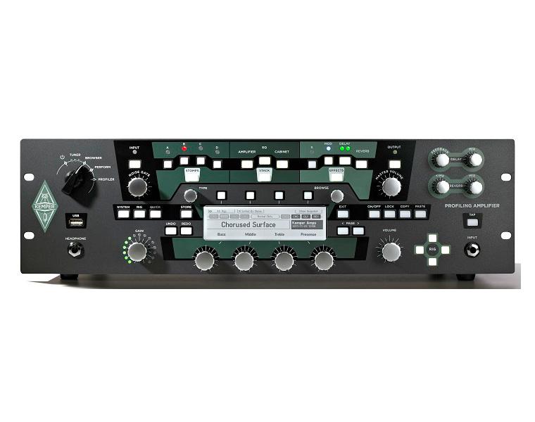 ケンパー Kemper Profiler POWER RACK パワーアンプ内蔵プロファイリングアンプ 送料無料