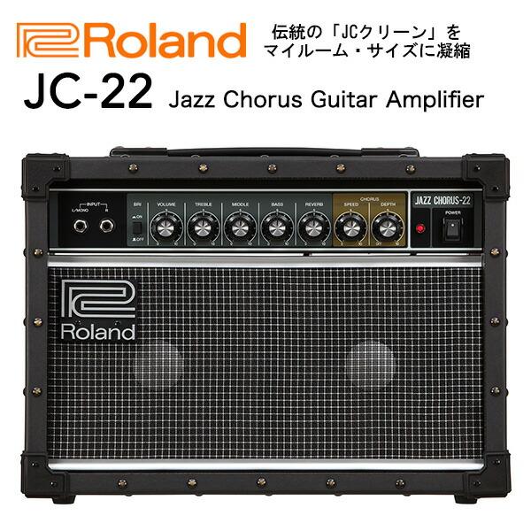 Roland ローランド JC-22 ギターアンプ ジャズコーラス 30W 送料無料