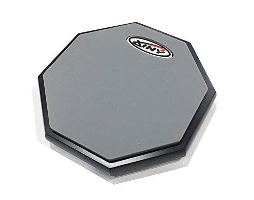 《訳あり特価!!》練習用トレーニングパッド 6インチ 片面タイプ / Xiny / Decagon black base plate 《ケース付き》【ゆうパケット・送料無料】