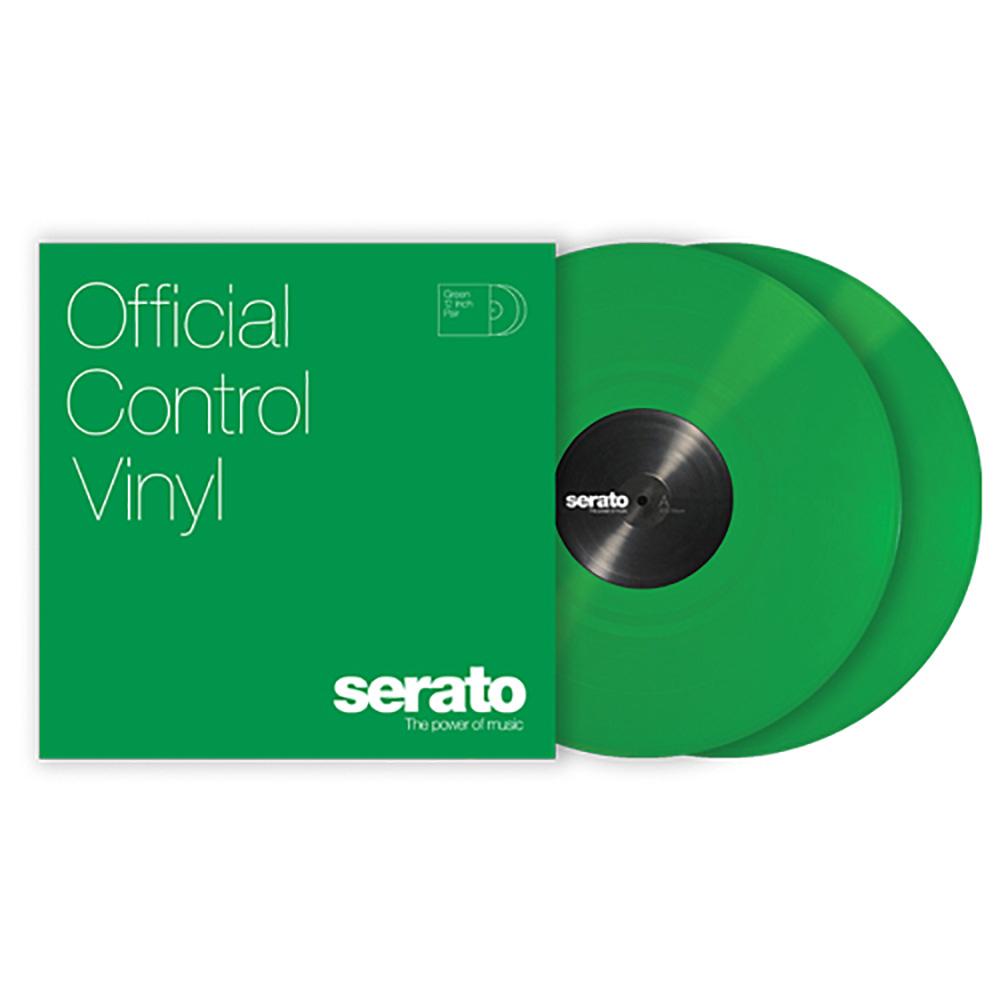Serato DJ Pro DVS用 公式 コントロールバイナル Green Viny 高品質新品 グリーン 2枚組 Control