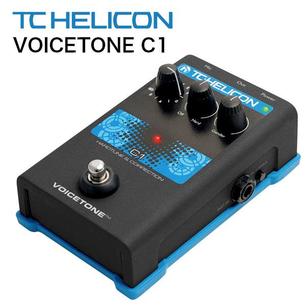 《カードポイント5倍キャンペーン(SPU分でポイントで最大7倍)》TC-HELICON ボーカル用エフェクター VoiceTone C1 ケロケロボイス 送料無料