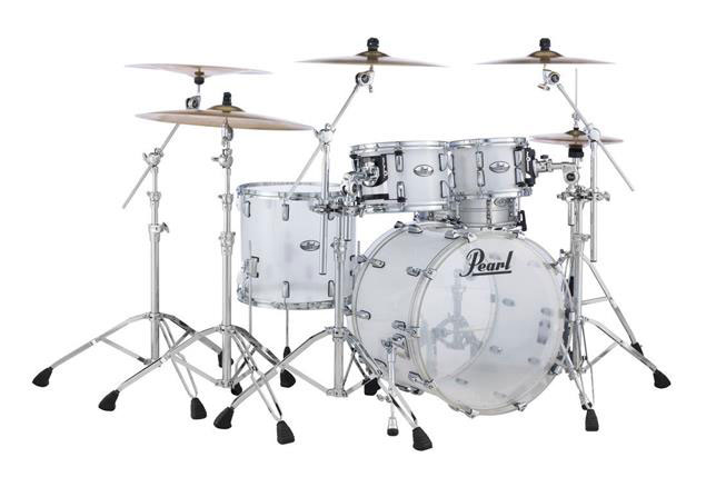 送料無料!! Pearl(パール)ドラムセット CRB524P/C 730 Ultra Clear Crystal Beat 4点Set 22