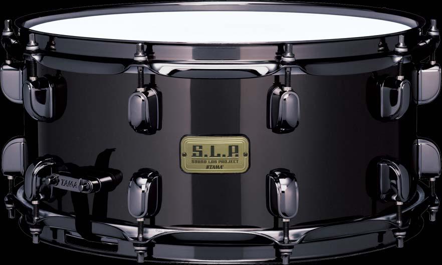 送料無料!! TAMA(タマ)スネアドラム LBR1465 BLACK BRASS S.L.P. SOUND LAB PROJECT