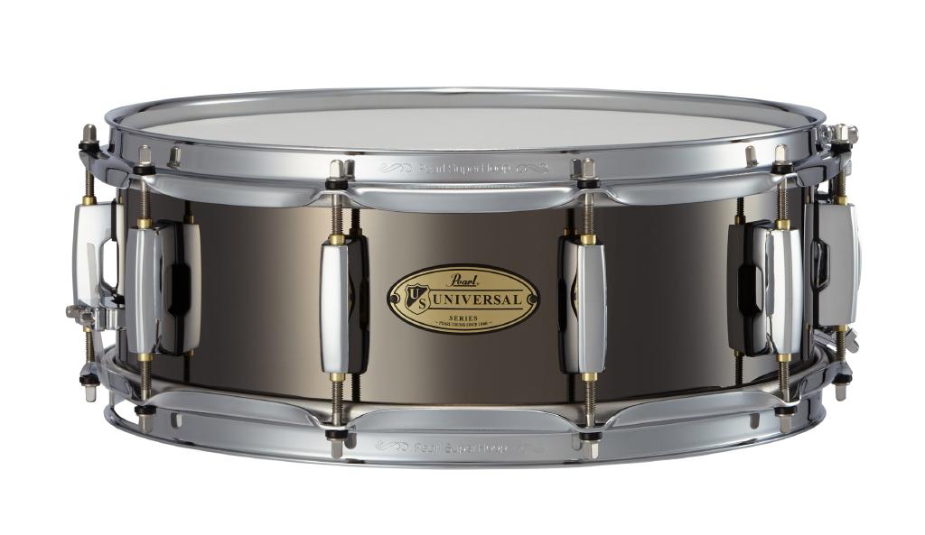 Pearl(パール)スネアドラム ユニバーサル スティールシェル US1450 Universal Steel ソフトケース付き!!