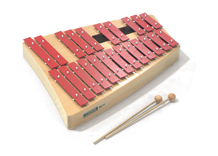 【入荷待ち/納期未定】SONOR ソナー・オルフ教育楽器 卓上鉄琴 グロッケンシュピール SN-NG31