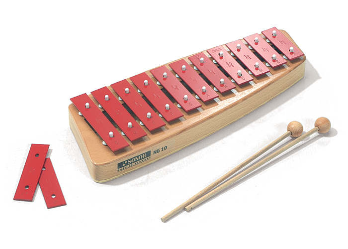 SONOR ソナー・オルフ教育楽器 卓上鉄琴 グロッケンシュピール SN-NG10