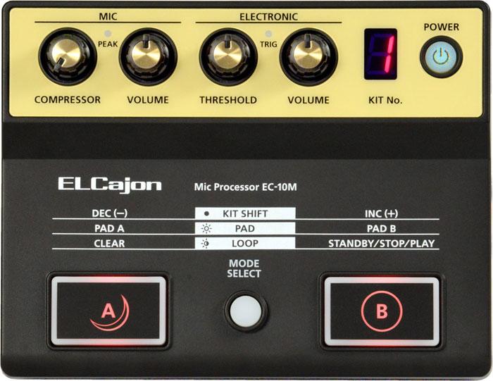 送料無料!! Roland(ローランド) EC-10M ELCajon Mic Processor<カホンマイクプロセッサー>