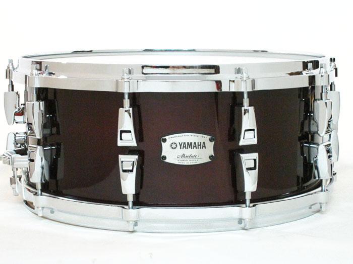 送料無料!! YAMAHA(ヤマハ)スネアドラム AMS1460 Absolute Hybrid Maple Classic Walnut / ハイブリッドメイプル
