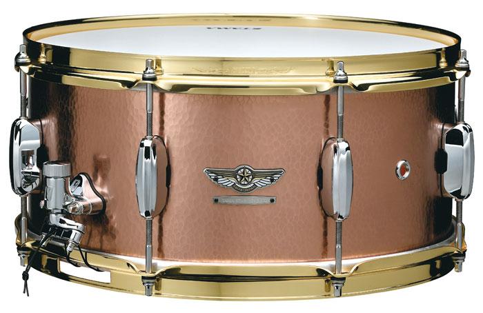 TAMA(タマ)スネアドラム TCS1465H HAND HAMMERED COPPER STAR Reserve Snare Drum / ハンマードコパーシェル