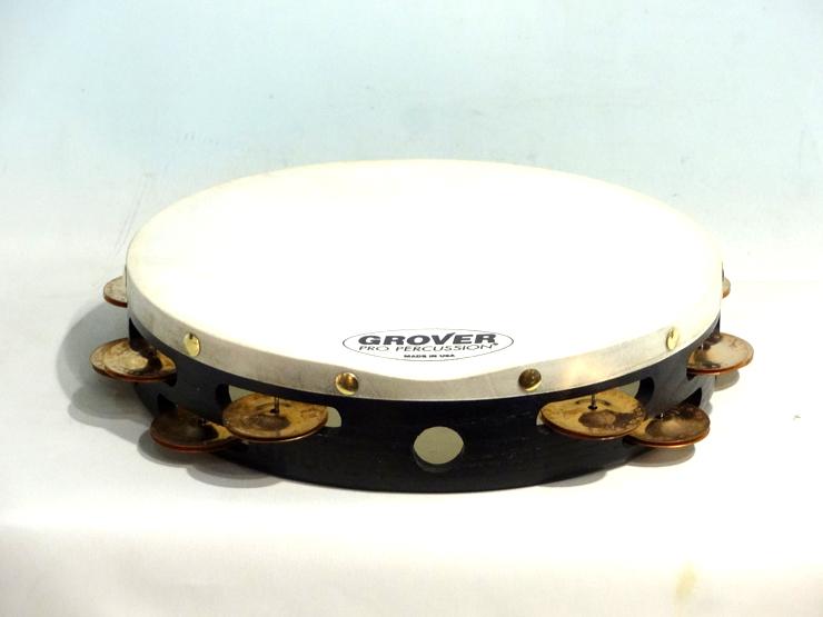 送料無料 GROVER 正規取扱店 グローバー 正規販売店 プロジェクションプラス タンバリン GV-T2PHBR