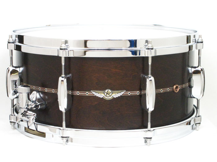 送料無料!! TAMA(タマ)スタースネアドラム TMS1465S Dark SDM TMS1465S Star Maple Snare Star/ Satin Dark Moca ソフトケース付き, シバタグン:f136421f --- officewill.xsrv.jp
