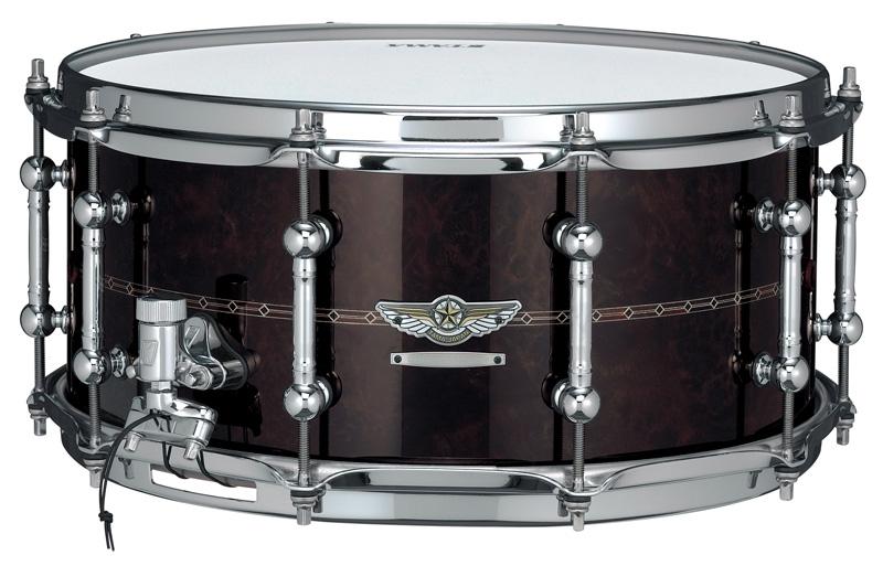 送料無料!! TAMA(タマ)スターリザーヴ・スネアドラム TBWS1465S WALNUT/BUBINGA STAR Reserve Snare Drum #3 / ソフトケース付き