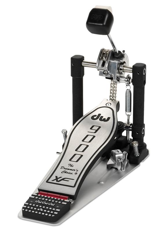 送料無料!! dw(ディーダブリュー)シングルペダル DW9000XF ロングボード 正規輸入品/保証書あり / ソフトケース付属
