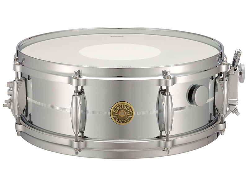 GRETSCH G-4160MS Chrome Over Brass Limited Edition グレッチ・スネアドラム / USA Custom<ブラス・シェル>