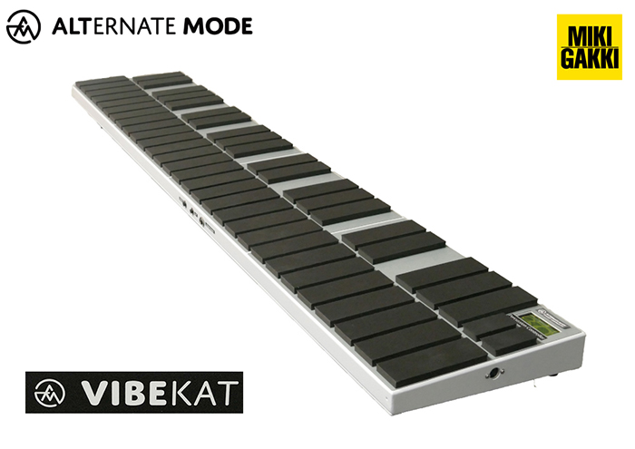 《カードポイント5倍キャンペーン(SPU分でポイントで最大7倍)》Alternate Mode 電子マリンバ【音源内臓モデル】vibeKAT Grand 4オクターブ【音源KETRON SD1000】&ソフトケース(配送料込み)