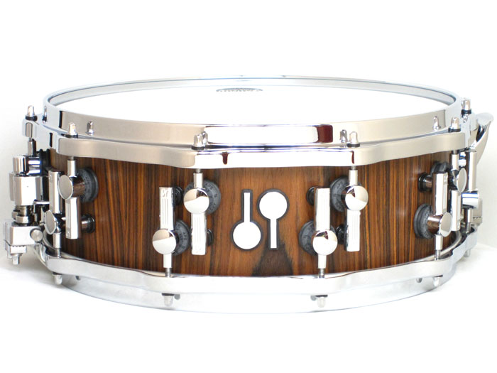 SONOR(ソナー)スネアドラム SQ1405SD/EHI-PA Classical SQ2 Rosewood / ローズウッド・ビーチシェル スーパーライトケース付き 吹奏楽人気機種