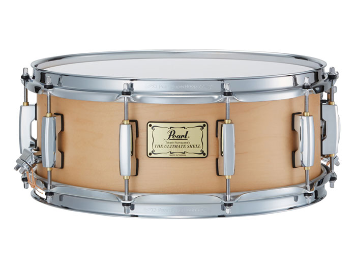 Pearl(パール)スネアドラム TNS1455S/C THE Ultimate Shell Snare Drums supervised by 沼澤尚(TYPE1 6ply /6.1mm)