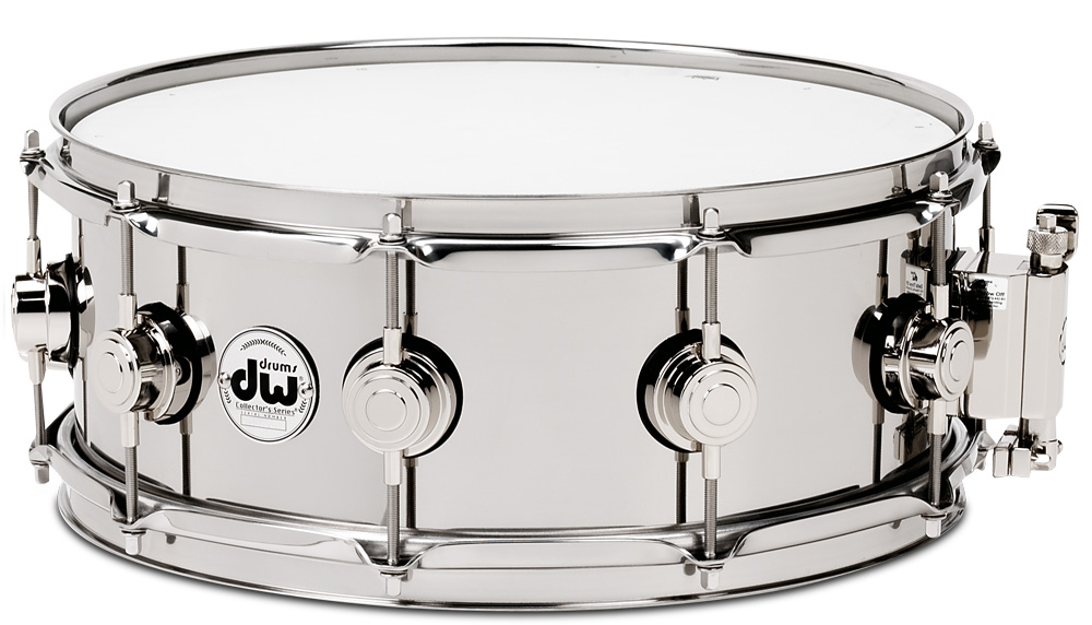 dw スネアドラム DW-SS1455SD/STAIN/N <Stainless Steel Collector's Series>コレクターズ ステンレススティール・ニッケルパーツ