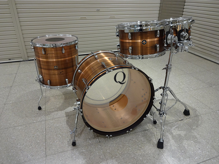 Q Drum(キュードラム)Copper Plate with Patina Shell 4点SET 22