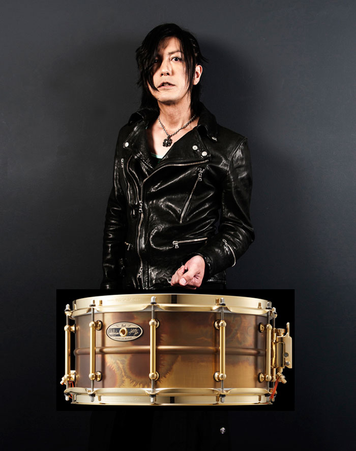 Pearl(パール)スネアドラム STA1465FB/SM 35th Anniversary =Limited Edition= / 宮脇知史 Signature Snare Drum