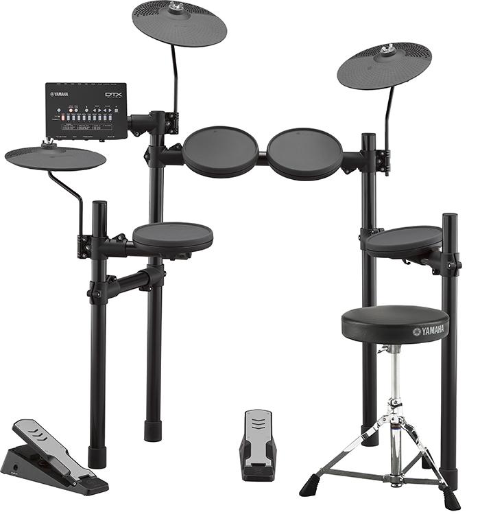 YAMAHA(ヤマハ)DTX402KS / 内蔵練習曲スコア&教則本、ヘッドホン、スティック付<電子ドラム・エレドラ>