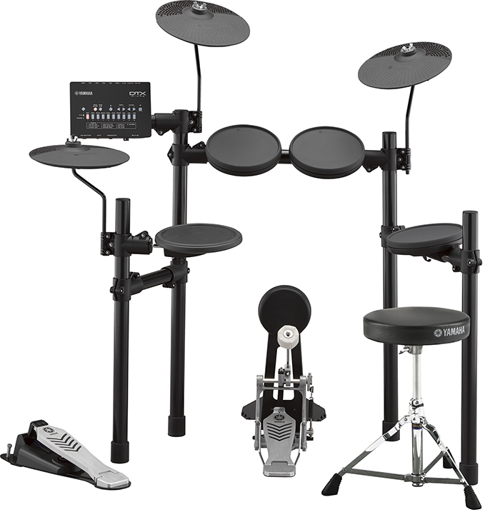 YAMAHA(ヤマハ)DTX452KS 3ゾーンパッド搭載 / 内蔵練習曲スコア&教則本、ヘッドホン、スティック付<電子ドラム・エレドラ>