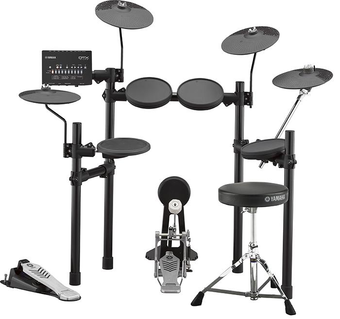 YAMAHA(ヤマハ)DTX452KUPGS 3ゾーンパッド搭載・3シンバル仕様 / 内蔵練習曲ドラムスコア&教則本、ヘッドホン、スティック付<電子ドラム・エレドラ>