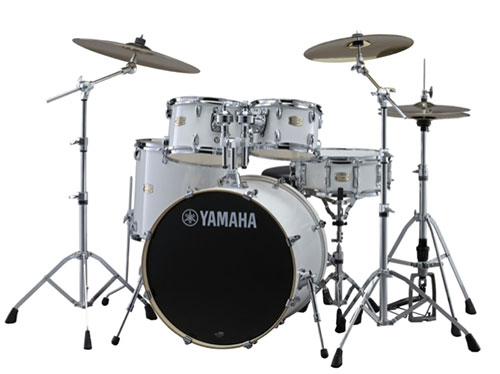 YAMAHA(ヤマハ)SBP2F5ZBT18 STAGE CUSTOM BIRCH ドラムセット スタンダードセット + zbtシンバルセット カラー:PW ピュアホワイト / ステージカスタム・バーチ