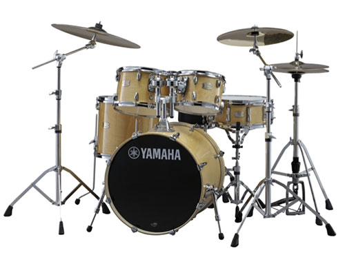 YAMAHA(ヤマハ)SBP2F5ZBT18 STAGE CUSTOM BIRCH ドラムセット スタンダードセット + zbtシンバルセット カラー:NW ナチュラルウッド / ステージカスタム・バーチ