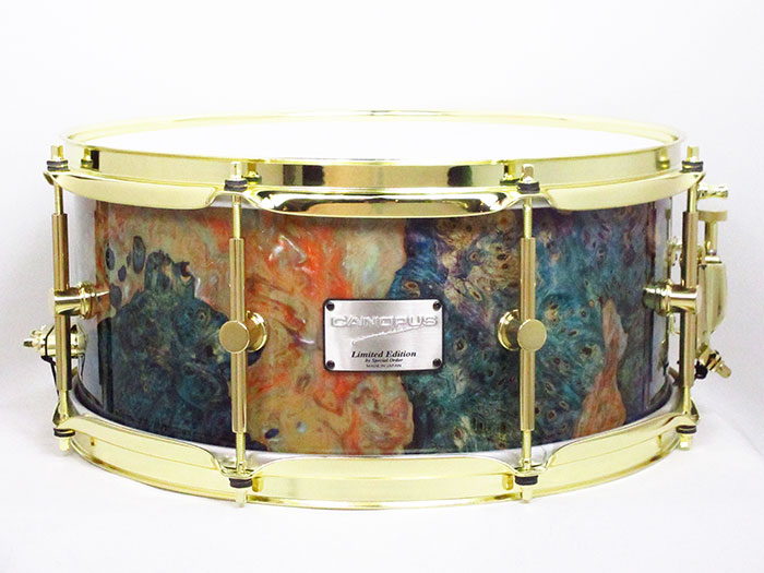 CANOPUS(カノウプス)SW-1465PH Stabilized Wood Snare Drum 14