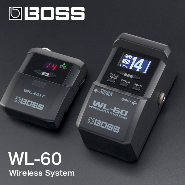 BOSS ギターワイヤレスシステム WL-60 送料無料