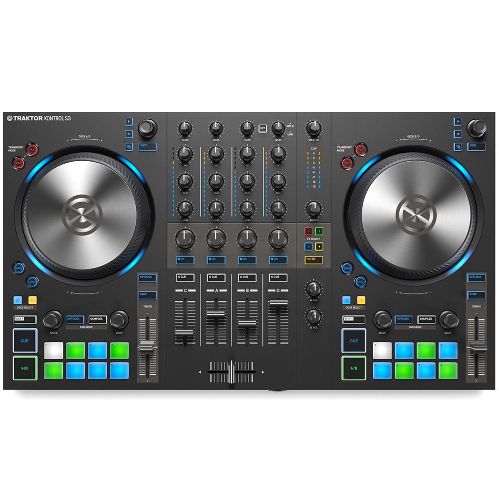 Native Instrument NI TRAKTOR KONTROL S3 トラクタープロ3 付属 4CH DJコントローラー