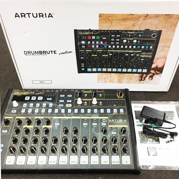 《アウトレット品》Arturia アナログ・ドラムマシン DrumBrute Creation Edition