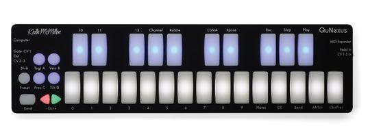 Keith McMillen Instruments QuNexus MIDIキーボードコントローラー 送料無料