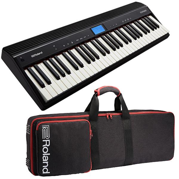 ROLAND ローランド 61鍵キーボード GO:PIANO GO-61P + キャリングケース セット 送料無料