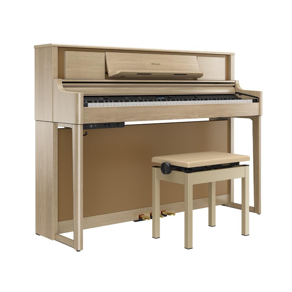 ローランド 電子ピアノ LX705-LAS((ライトオーク調仕上げ) 全国配送設置無料
