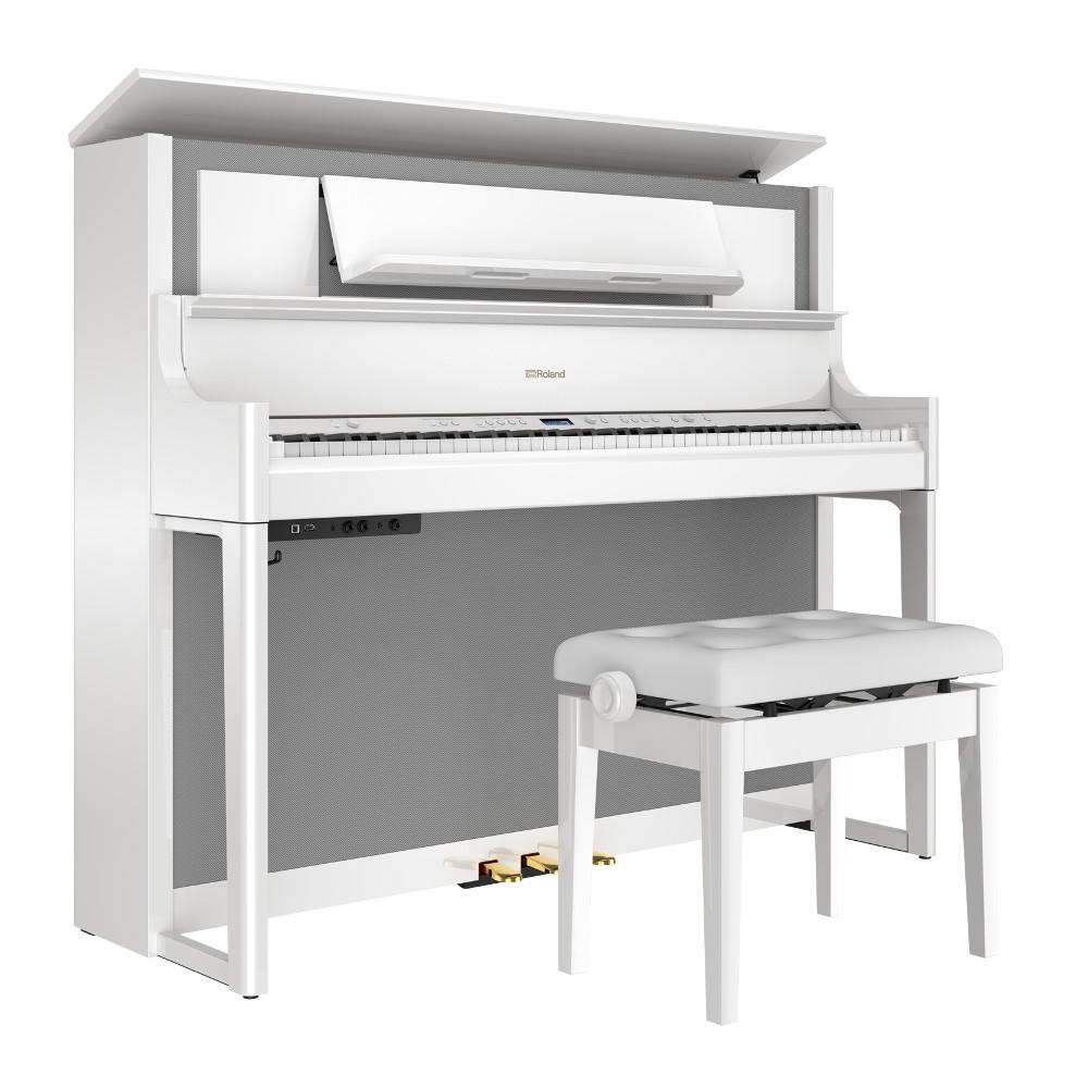 ローランド 電子ピアノ LX708-PWS(白塗鏡面艶出し塗装仕上げ) 全国配送設置無料