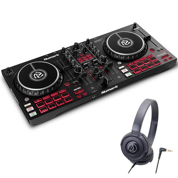ショップ FXパドル搭載2デッキDJコントローラー Numark ヌマーク Serato DJ対応 2デッキ DJコントローラー 売店 セット Mixtrack Pro FX + ヘッドホン