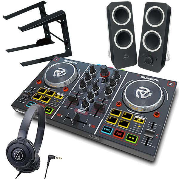 Numark DJコントローラー Serato DJ Lite対応 パーティライト搭載 Party Mix
