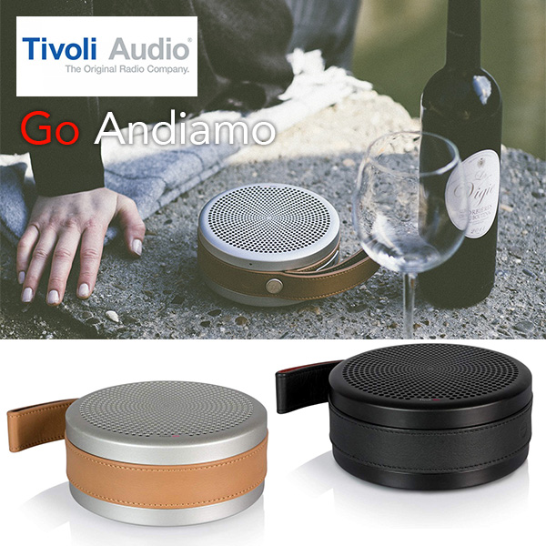 Tivoli Audio チボリオーディオ Tivoli Go Andiamo Bluetooth ワイヤレス ポータブル スピーカー 送料無料