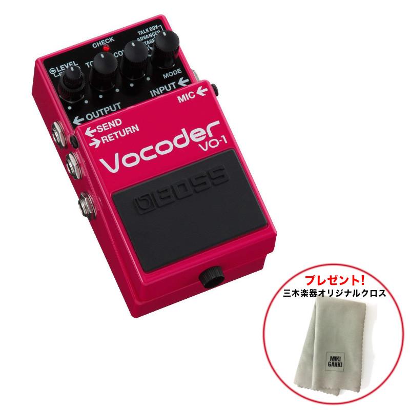 BOSS ボス VO-1 Vocoder 送料無料《特典オリジナルクロス》
