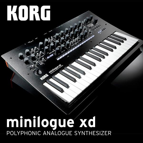 KORG デジタル・マルチ・エンジン搭載 ポリフォニック・アナログ・シンセサイザー minilogue xd 【送料無料】